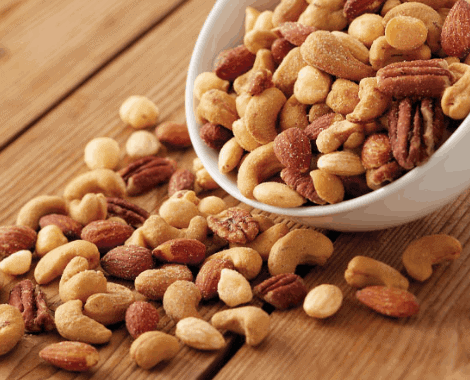 Nuts- Other Foods That Will Help You Burn Belly Fat Fast