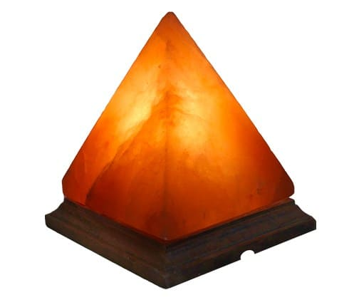 Polished Pyramid Shaped Himalayan Salt Lamp - 14 Weirdest, Coolest & Most Unique Himalayan Salt Lamps You Can Buy Right Now