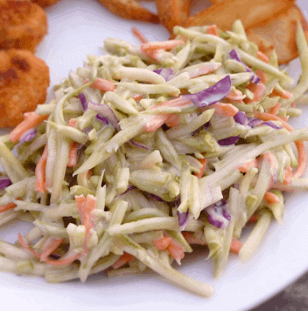 Quick Broccoli Slaw Recipe- How To Lose Weight