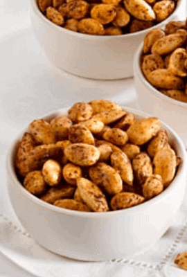 Spice Roasted Nuts for weight loss