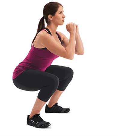 Squats - How To Lose Inner Thigh Fat