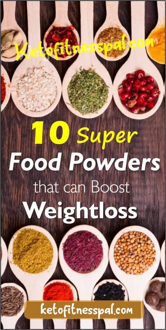 This article contains 10 superfood powders that are a trendy way to lose weight fast! They are mostly gotten from fibrous foods that are popular for boosting weight loss and cleansing the body.