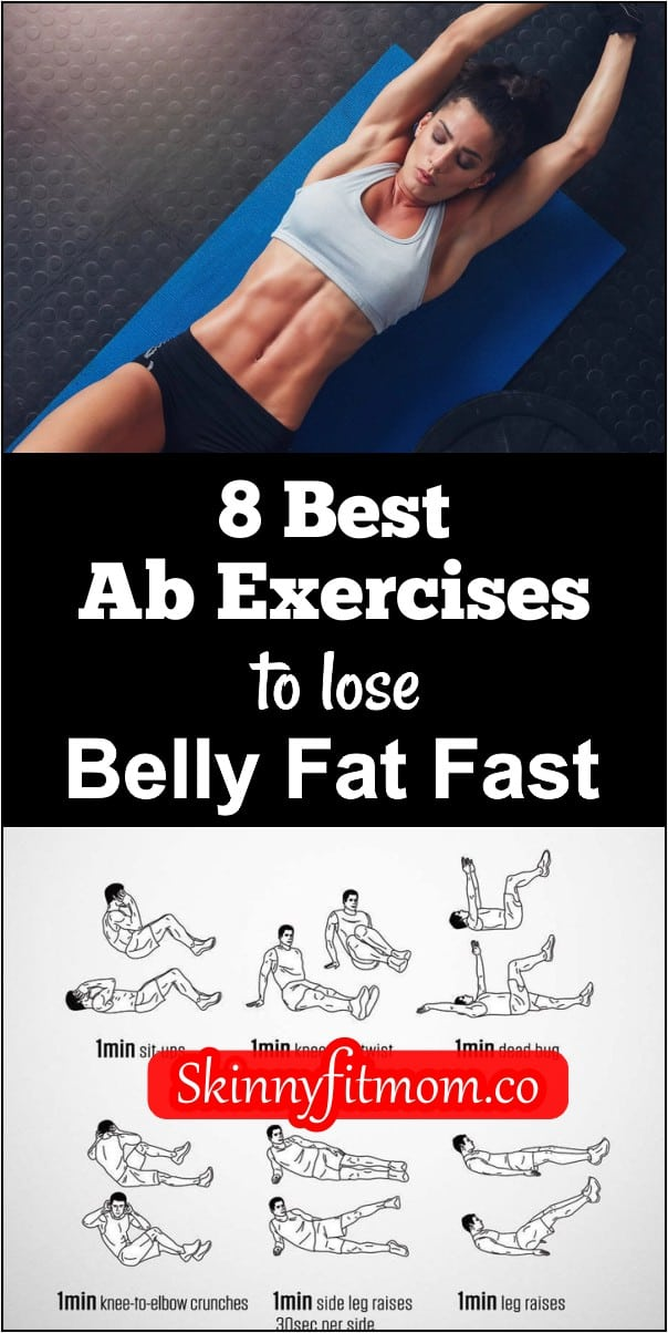 Are you a beginner? Want to strengthen and define your core? Here are 8 best ab exercises to build your oblique and lose belly fat in less than 30 days.