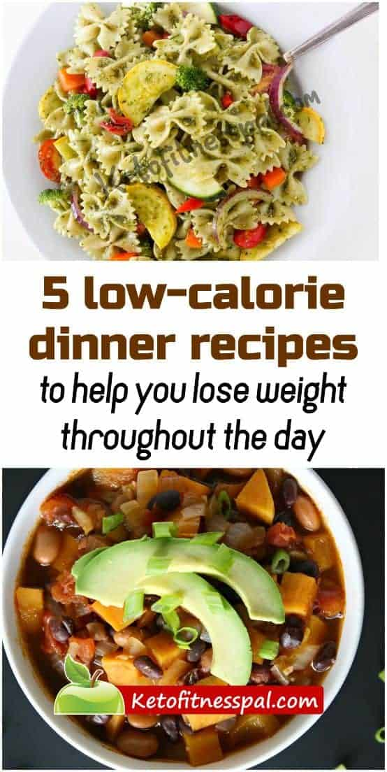Find healthy, delicious low-calorie dinner recipes that will up your nutrition game and boost weight loss here! The best part is that these meals are easy to prepare and take little time!