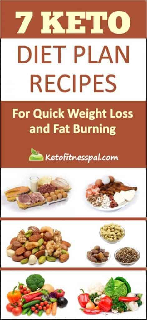 Do you want to know how i get rid of my body fat in no time? Check out these amazing 7 Keto diet plan recipes for quick weight loss and fat burning. #ketogenicdiet #keto #loseweight