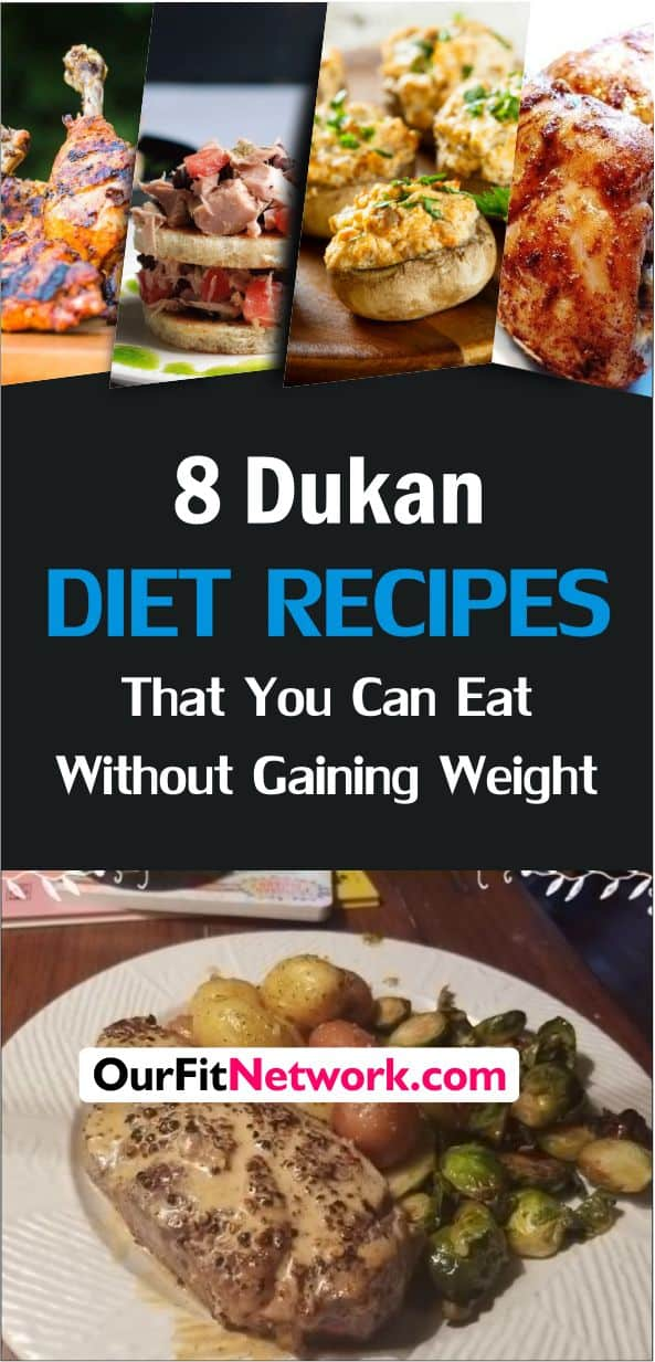 The Dukan diet is one of the fast and effective weight loss diets that you can rely on. They are great for total fat-burning and a healthy lifestyle. Click through to see 8 yummy Dukan Diet recipes that you can make.