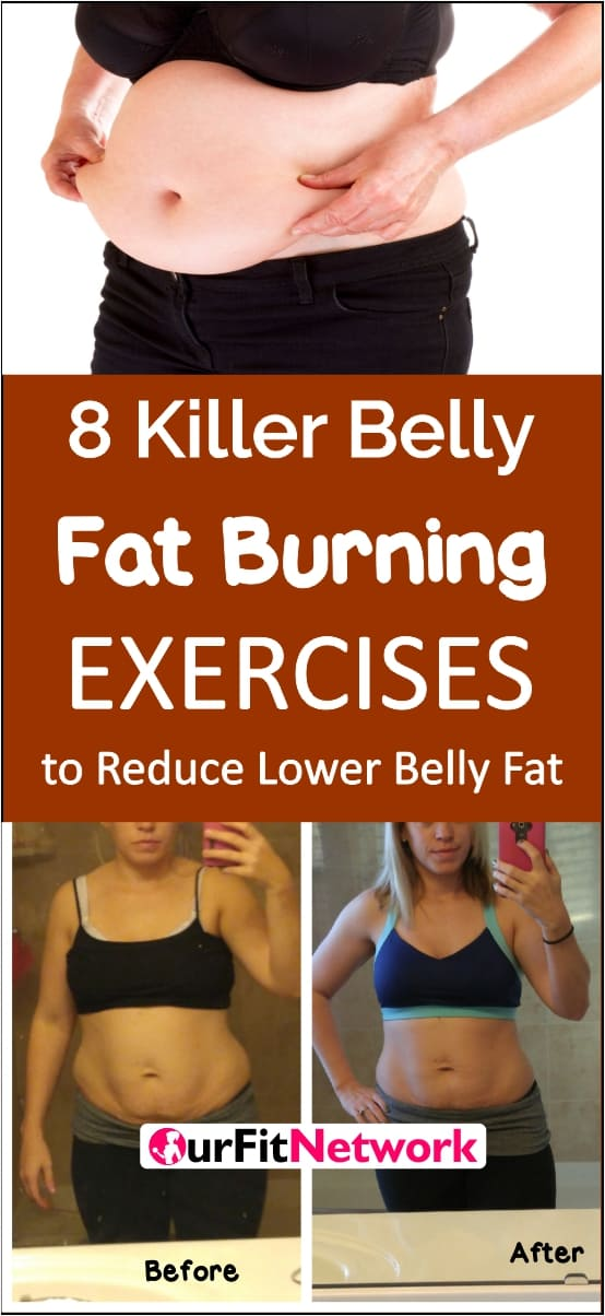 Are you constantly searching for workouts that will help ger rid of that dreaded lowerbelly pooch? Now the search is over! This post gives detailed information on the exercises and diet tips to get rid to eliminate lower belly fat. Click to have a FULL READ!
