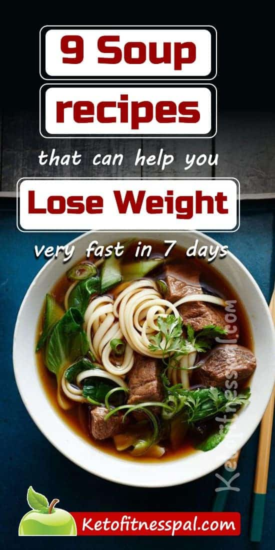 Wanting to lose some pounds? Then try these weight loss soup recipes. I added these soup recipes to my diet plan and the results I've noticed are amazing!! Check out the recipes and start your weight loss journey now.