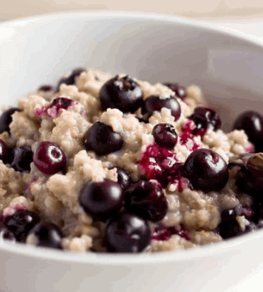 Delicious and Affordable Coconut Blueberry Oatmeal