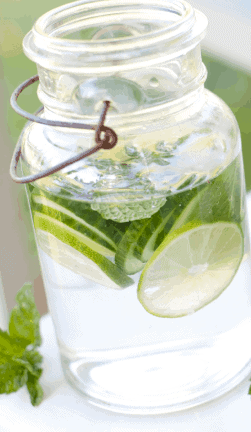 Cucumber-Lime-Water-Coconut-Milk-Strawberry-Smoothie-9-Delicious-And-Simple-Keto-Smoothie-Recipes