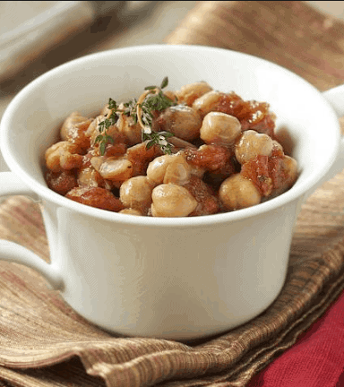 Curried Chickpeas In Peanut Sauce- Vegan Recipes That Aids Weight Loss