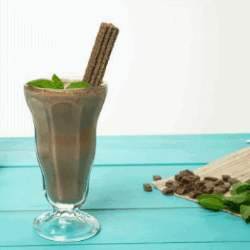 Double Mint Smoothie for weight loss