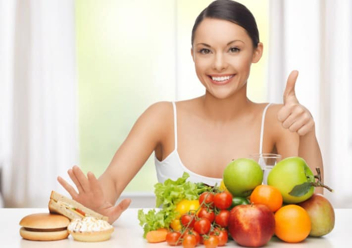 Eat Healthily-Tips to Lower Belly Fat