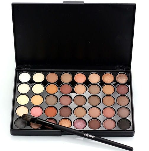 Eye Shadow-basic makeup kit for beginners on a budget