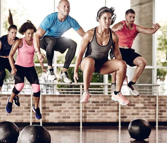 Friday- High-Intensity Group Fitness Class for burning calories