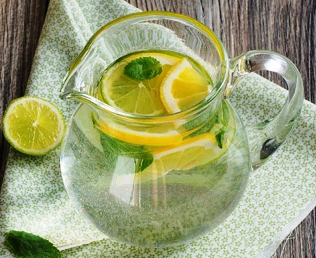 Hot Lemon Water with Mint- Best Lemon Water for Weight Loss
