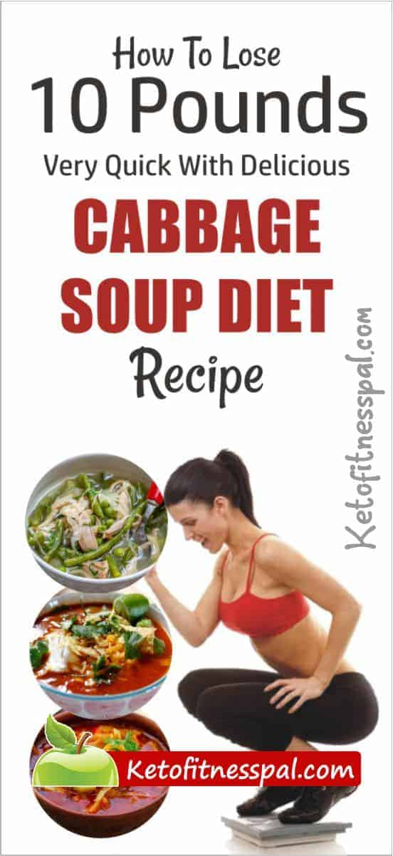 The combination of cabbage soup with exercises and healthy meal maintainance is the key to a fast weight loss. Check out the delicious cabbage soup diet recipe here.