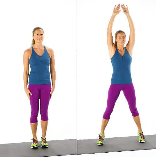 Jumping Jacks - Tabata Workouts For Beginners
