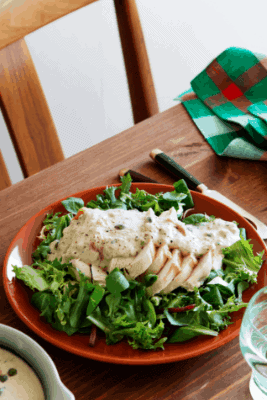 Keto-Chicken-Tonnato meal for weight loss