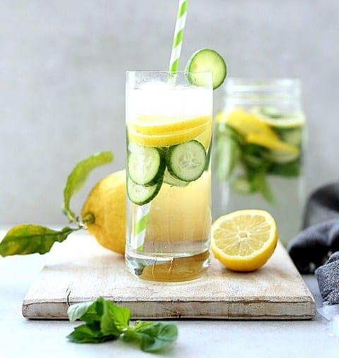 Lemon Cucumber Water- Best Fat Burning Drink For Weight Loss