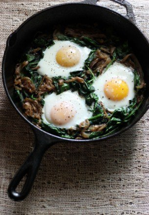Power Greens Breakfast Skillet- Easy To Make Vegan Recipes For Breakfast