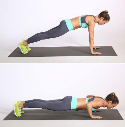 Push-Ups - How To Lose Weight For Beginners