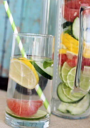 Slim Down Detox Water Recipe for weight loss