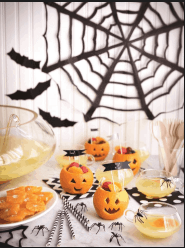 Snack O Lantern- 8 Halloween Healthy Snack that will get your taste bud dancing