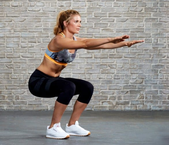 Squat Jump - Tabata Workouts For Beginners