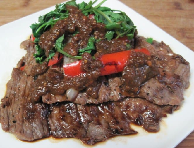 Steak with Pepper Sauce Dukan Diet Recipe for Healthy Weight Maintenance