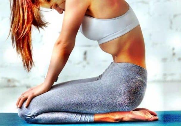 Stomach Vacuum Exercise for quick flat belly