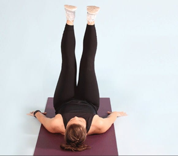 Supine Inner Thigh Lift - Exercises To Get Slim Legs Fast