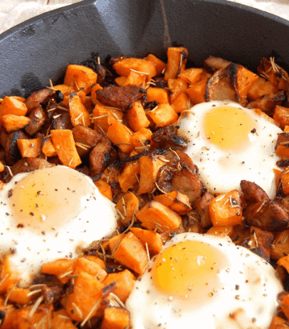 Sweet Potato Breakfast Hash- Affordable Paleo Meals you can Try
