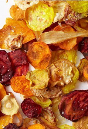 Veggie Chips- 8 Halloween recipe that are healthy