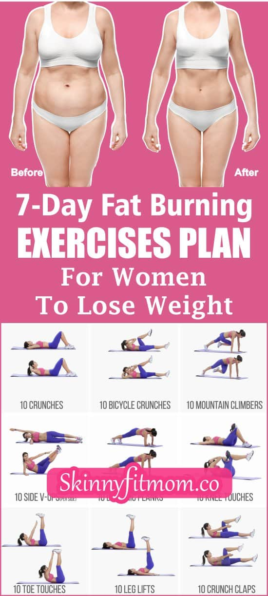 This weight loss workout plan is for you if you trying to lose weight or achieve a slim waistline. It consists of a day-by-day guide to blast excess fat and stay healthy.