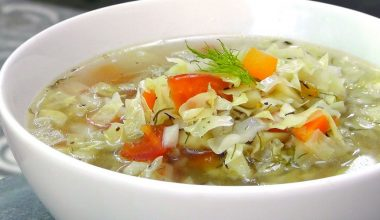 How To Lose 10 Pounds With this Delicious Cabbage Soup Diet Recipe