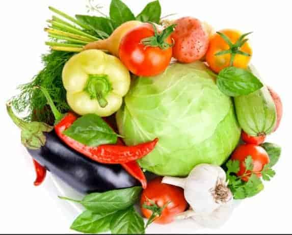 Vegetables for quick weight loss