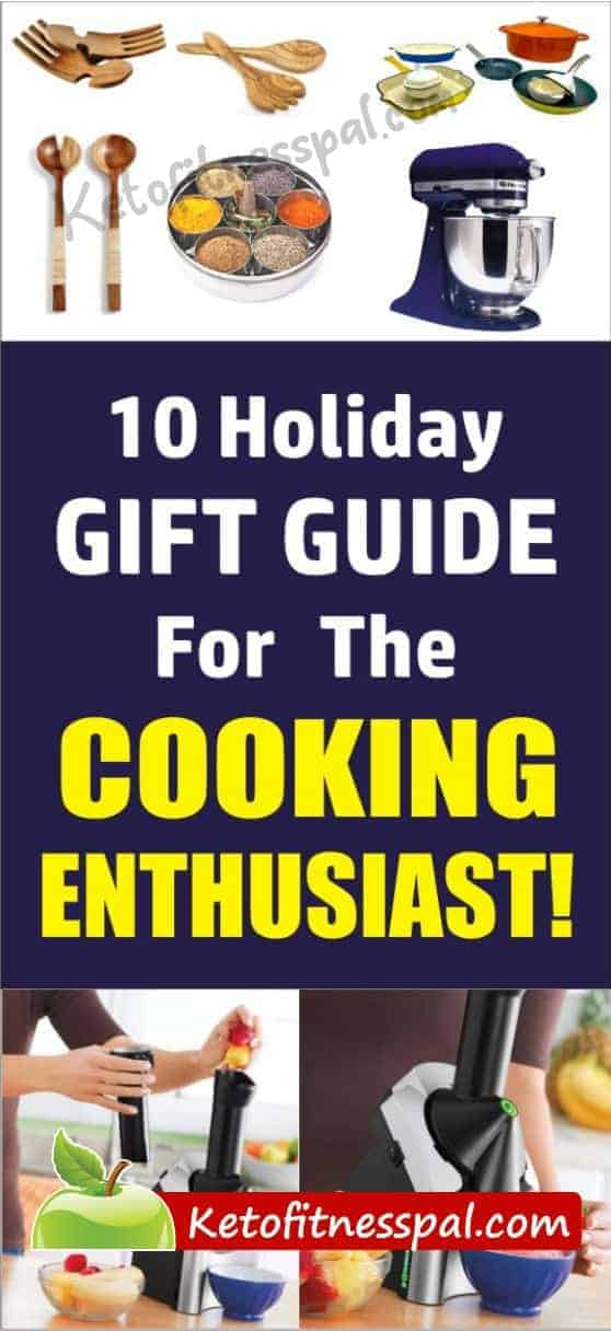 Worried about getting the perfect gift for a cooking enthusiast? This Holiday gift guide will help you get the amazing gifts that will thrill cooking enthusiasts/foodies. Click to have a FULL READ!