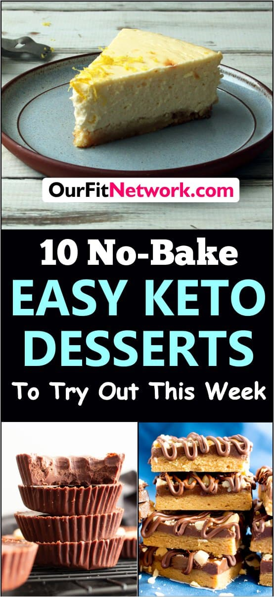 New ideas of yummy no bake keto desserts to try out this week. Less stress and easy to make.#keto #ketodiet #ketorecipes #ketogenic #ketogenicdiet #lowcarb #lowcarbdiet