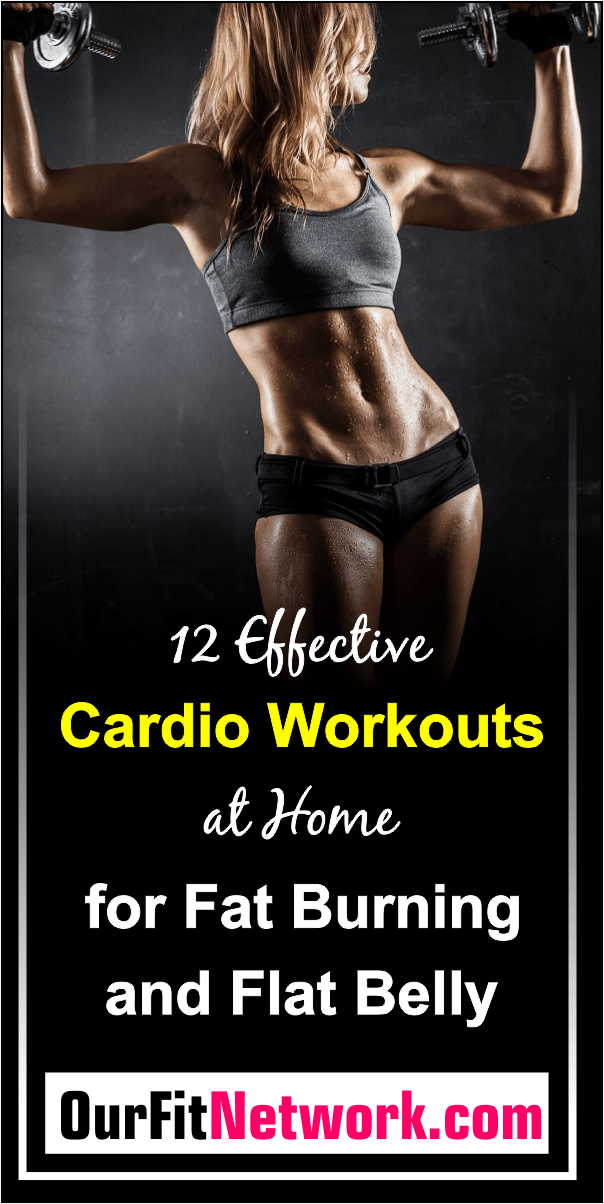 Want to lose belly fat by doing cardio routines? Then, this post is perfect for you! Get rid of belly fat by doing exercises that raise your heart level at home.