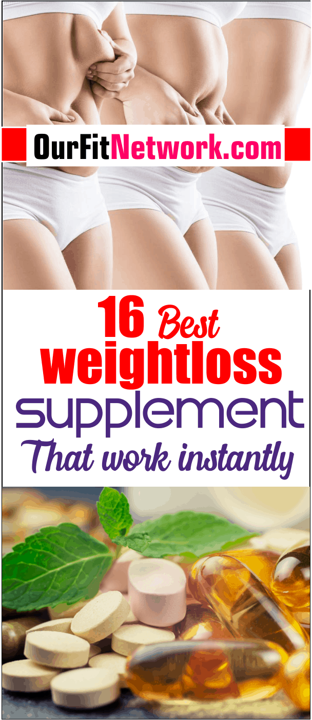 There are countless weight loss supplements out there but these 16 has been proven to work effectively. Click to discover the best fat burning supplements that will aid you to drop those pounds naturally in no time.
