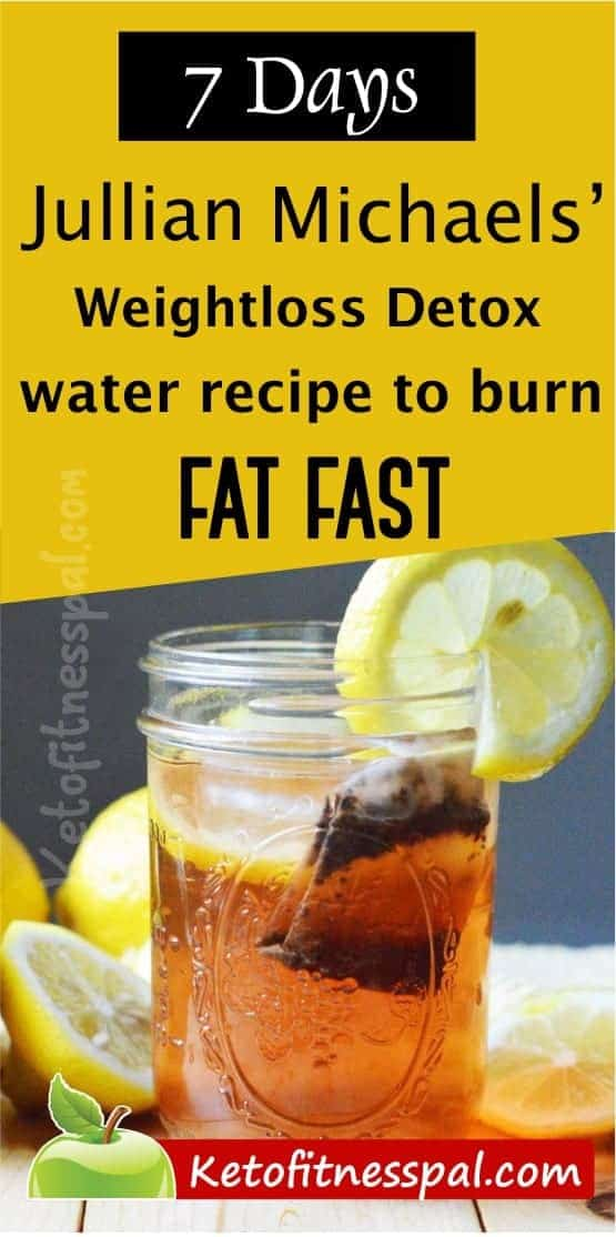 Try Jillian Michaels detox water - It is a natural diuretic drink that helps to reduce bloat and water weight in the body... Plain and simple…just the way we like it! Jillian Michaels' detox water consists of distilled water, lemon juice, organic dandelion root tea, and cranberry juice.