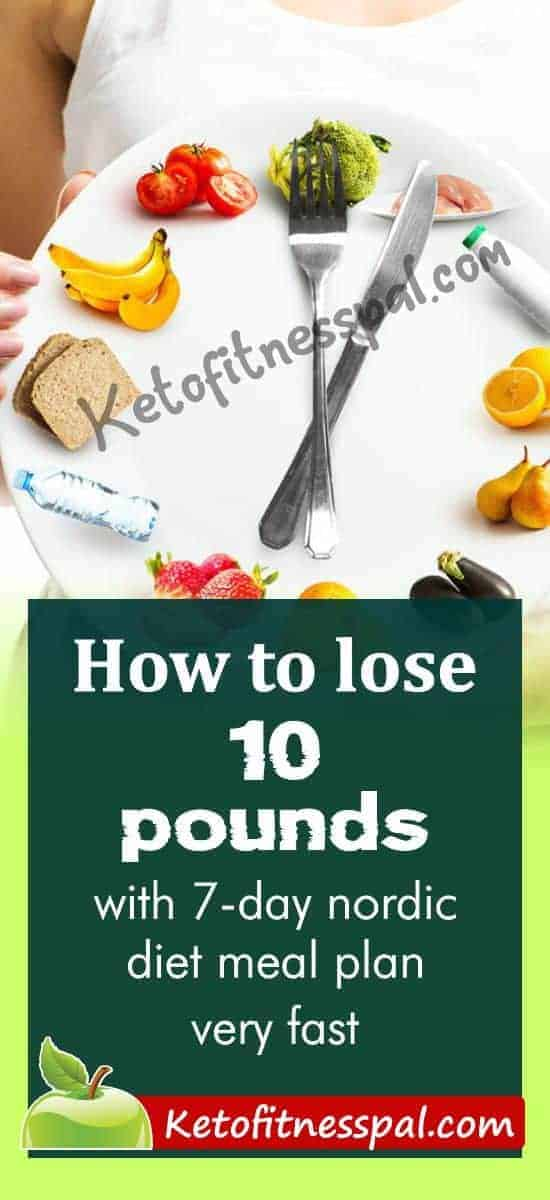 With the Nordic diet, you can eat as much as you want but still lose up to 10 pounds fast. It is also a diet plan that has proven to be healthy for the heart. In this article, you will find a 7-day Nordic diet sample to get you started.
