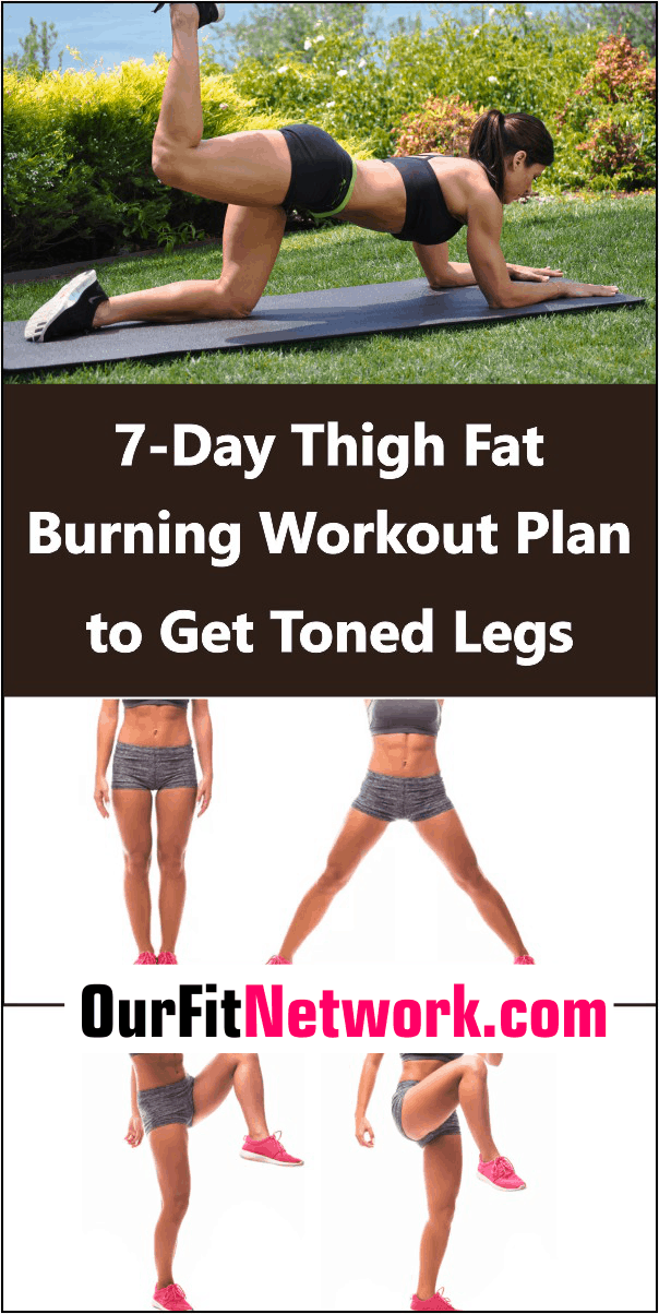 Get slimmer thigh and well-toned legs with these 7-day thigh-burning workout plan and tips that are pure magic! Add them to your fitness routine today to start a quick fat-burning process.