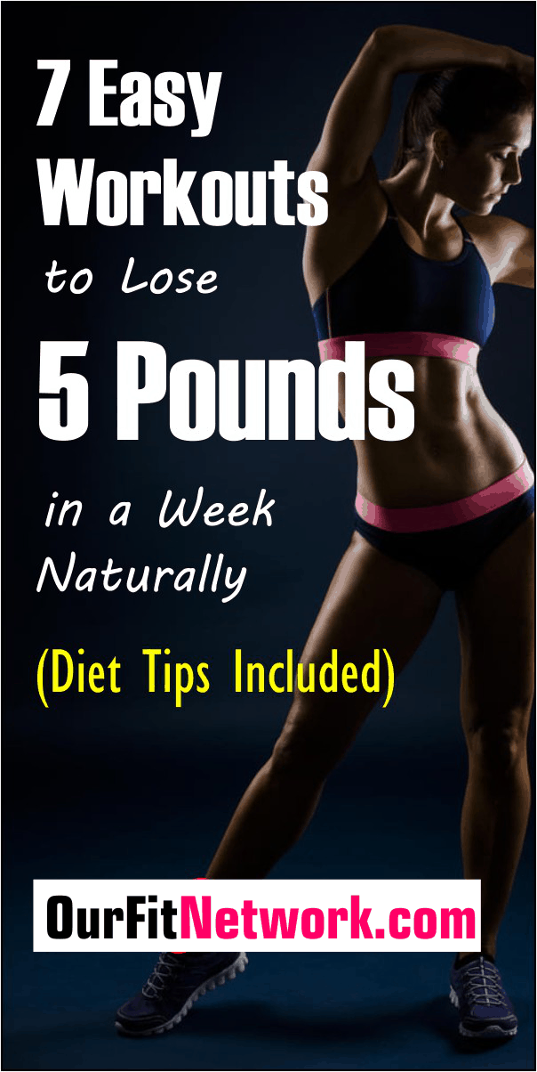 Trying to shed off 5 pounds in a week without pills? These essential weight loss tips will help you lose weight in 7 days and achieve your fitness goals. Cheer!