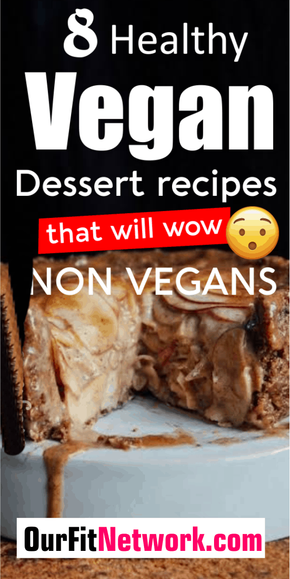 8 Vegan Dessert recipes that will wow you! They are totally healthy and will satisfy your sweet tooth!