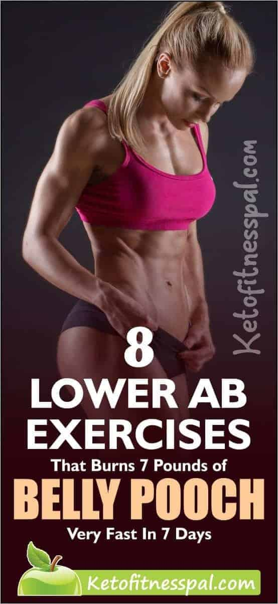 Getting a flat tummy is one of the hardest thing to achieve. However, the good news is that with strict adherence to weight loss plan and specific lower ab exercises, you can get well-sculpted abs and bid belly pooch goodbye.