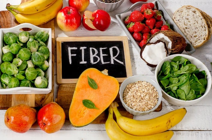A diet high in fiber will help you lose weight with PCOS