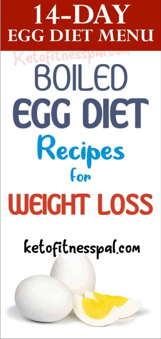 Eating eggs to lose weight sounds weird, right? Yet many people are finding that the boiled egg diet is the perfect solution to their temporary weight loss goals. If you want to lose the extra weight, then check out the 14 days egg diet menu