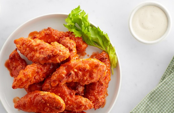 Buffalo Keto Chicken Tenders-16 Easy and Quick Low Carb Keto Appetizers